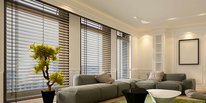 Motorised Venetian Blind