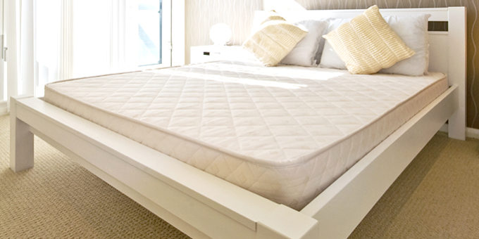Mattress with Bed
