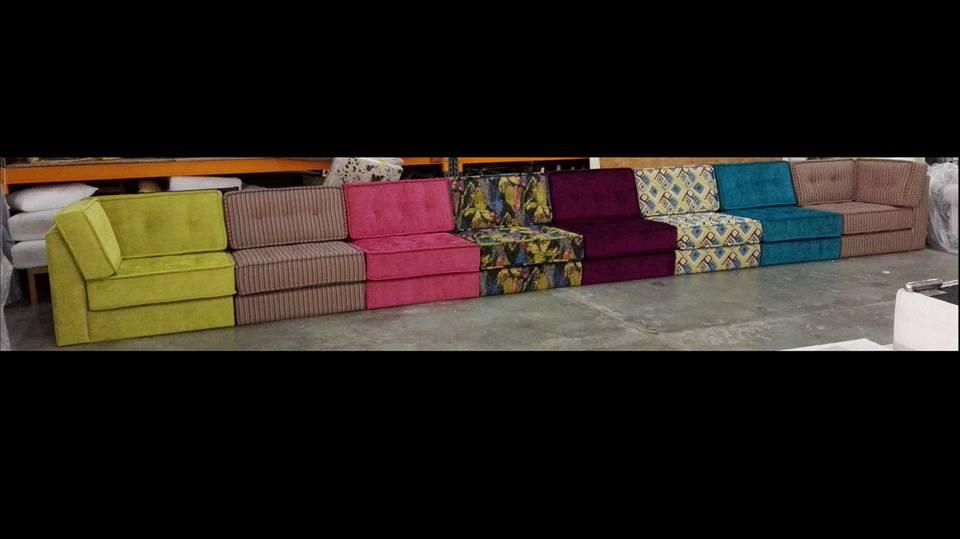 Large Multicolour Sofa