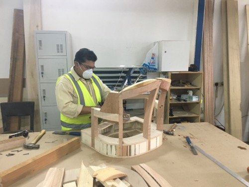 Carpenter in Joinery