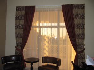 Hotel Curtains Fitted